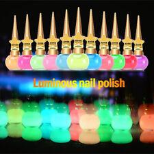 Luminous Nail Polish Glow In Dark Matte Fluorescent Women Manicure Nail Varnish