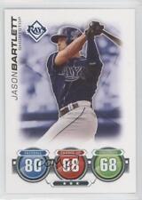2010 Topps Attax #JABA Jason Bartlett Tampa Bay Rays Baseball Card