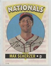 2017 Topps Archives #RO-17 Max Scherzer Washington Nationals Baseball Card