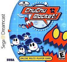 Chu Chu Rocket - SEGA Dreamcast - Game,CASE & MANUAL