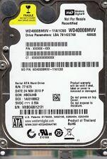 "WD4000BMVV-11A1CS0  dcm:  HBCVJHB  Western Digital 400Gb 2.5"" USB 2.0 BBB22"
