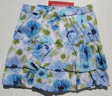 Gymboree NWT MALIBU COWGIRL Skirt Skort Blue Floral Tiered 3 3T 4 4T 5 5T 6 8