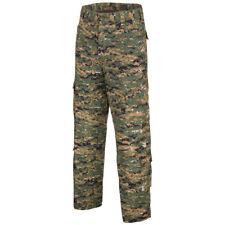 MFH ACU Pantalones Tácticos Para Hombre Carga Combate Algodón Woodland Digital