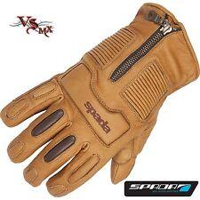 Spada Rigger Leather Motorcycle Motorbike Gloves Waterproof Thermal