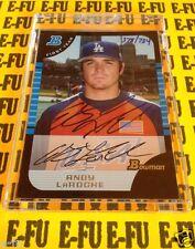 06 Bowman Originals Buyback '05 ANDY LAROCHE #BDP140 Autograph Dodgers Auto /734
