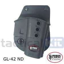 Nouveau FOBUS glock 42 holster GL42 ND toutes les variantes de la police militaire