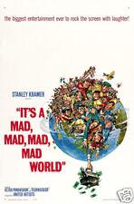 It's a mad mad...world 1963 Stanley Kramer movie poster print