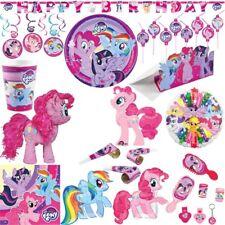 My Little Pony Festa di compleanno BAMBINI SET DECORATIVO Pferde DECORAZIONE
