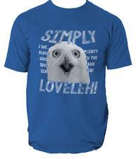 SIMPLY LOVELEH OWL GOOD SHOT PLENTY IN THE TANK SIMPLY LOVELY FUNNY T-SHIRT
