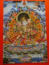 "Tibetan Buddhist Goddess Thangka Prints, 24"" x 16,"" radiant Tara, 44 options"