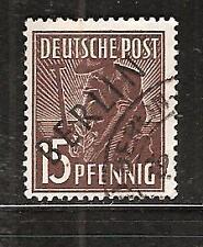 West Berlin # 9N-6 Used Black Overprint