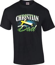 Christian Dad Religious Jesus Christ Cross T-Shirt