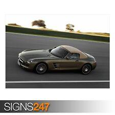 MERCEDES BENZ SLS Coupe (AB390) POSTER AUTO-FOTO stampa poster art * Tutte le Taglie