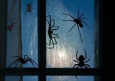 Spider Crawling Halloween Scary Vinyl Decal Sticker Car Window Wall Art