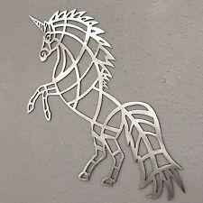 Unicorn Metal Wall Art Plasma Cut Skilwerx Mystical Modern