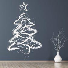 Christmas Tree Xmas Star Wall Sticker WS-34404