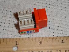 AMP 9824 Tyco Electronics 406372-5 Enhanced CAT5E RJ45 JACK 8P black 110 connect
