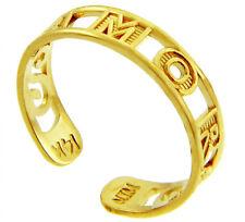 Amor Gold Toe Rings