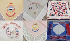 Silk Sweetheart Handkerchief Hanky Vintage WW1 WW2 (b)