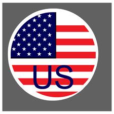 adesivo bandiera america usa flag sticker decal  autocollant aufkleber pegatina