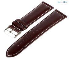 Lederarmband Braun 7019451 GPG Glatt Gepolstert Uhrenarmband Armband