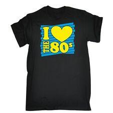 I Heart The 80s T-SHIRT Costume Retro Fancy Dress Disco eighties 80's birthday