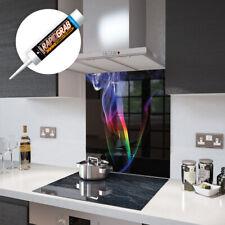 Glass Splashbacks Rainbow Smoke and Accessories - Made By Premier Range