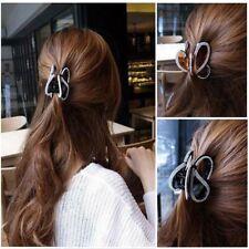 Bijou  Acrylique Barrette Papillon Griffe Plein Diamant Épingle à Cheveux