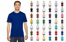 2001US American Apparel Fine Jersey 100%cotton Tee Short Sleeve Unisex T-Shirt