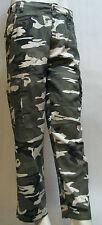 Men's Army Camo Combat Cargo Pant,Trousers,Grey/White,Dk.Grey,Dk Grn Size XS-3XL