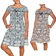 Neu Damen Sommer Kleid Minikleid Strandkleid Party Cocktailkleid Kurz - S bis XL