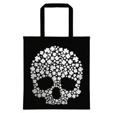 St Patrick's Day Lucky Skull Black Tote Bag