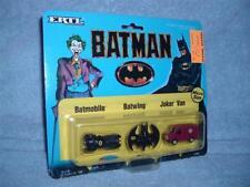 BATMAN Batmobile Batwing Joker Van Micro Size ERTL 1989 MISP MOC New DC Comics