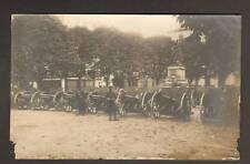 Carte-Photo MILITAIRE & CANON au MONUMENT , BELFORT le 17.07.1914