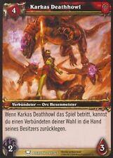 WoW - 4x Karkas Deathhowl - Helden von Azeroth - mint