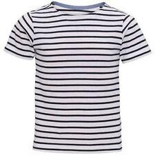Asquith & Fox - Camiseta de manga corta modelo Mariniere Coastal para niños