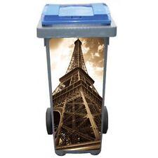 Stickers poubelle déco Tour Eiffel Sépia 3208 Art déco Stickers