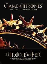 Le Trône de Fer: Saison 2 (Bilingual) - French Season 2 - Game Of Thrones - NEW