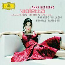 """NETREBKO/VILLAZON """" LA TRAVIATA (ARIEN&DUETTE)"""" CD NEU!"""