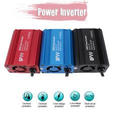 BFVV 350W Car Power Inverters DC 12V to AC 110V Inverter 2 Ports USB & Outlets