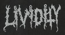 LIVIDITY Logo Woven Patch / gewebter Aufnaeher (o266a)
