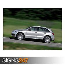 AUDI Q5 3.0 TDI QUATTRO S (AD021) CAR POSTER - Poster Print Art A0 A1 A2 A3