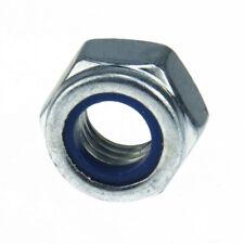 Sicherungsmuttern 6-kant DIN 985 10 Stahl galv. verz. nied. Form mit Feingewinde
