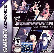 WWE SURVIVOR SERIES GAME BOY ADVANCE GBA COSMETIC WEAR