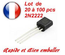 Transistor 2N2222  -- Prix dégressif en fonction de la quantité