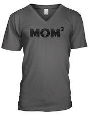Mom Squared Best Mom Ever Mommy Mother's Day Gift Mens V-neck T-shirt