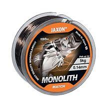 línea de pesca Jaxon Monolito Match Hilo monofilamento 150m Bobina Top Calidad