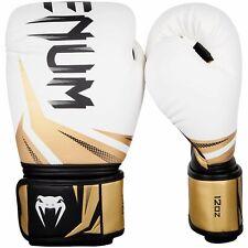 Venum Guantes de Boxeo Challenger 3.0 Blanco Oro Negro Muay Thai Kick Boxing