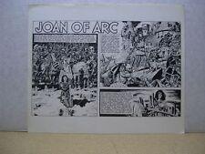 Wally Wood's One-Sheet History Prints: Joan of Arc (USA)