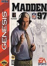 Madden NFL 97 Sega Genesis -- Game only